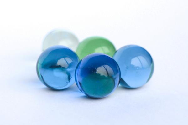 Glaskugeln als Symbol der Unternehmensberatung